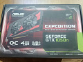 Videokaart Asus Nvidia GeForce GTX 1050 Ti Expedition 4GB OC