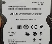 O:Seagate HDD 500GB - st9500325as