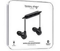 Happy Plugs Ear Piece II Bluetooth Black, uus