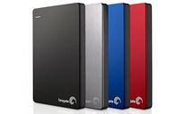 Seagate Backup Plus Slim 1TB, 2TB , 4TB, 5TB USB 3.0 black