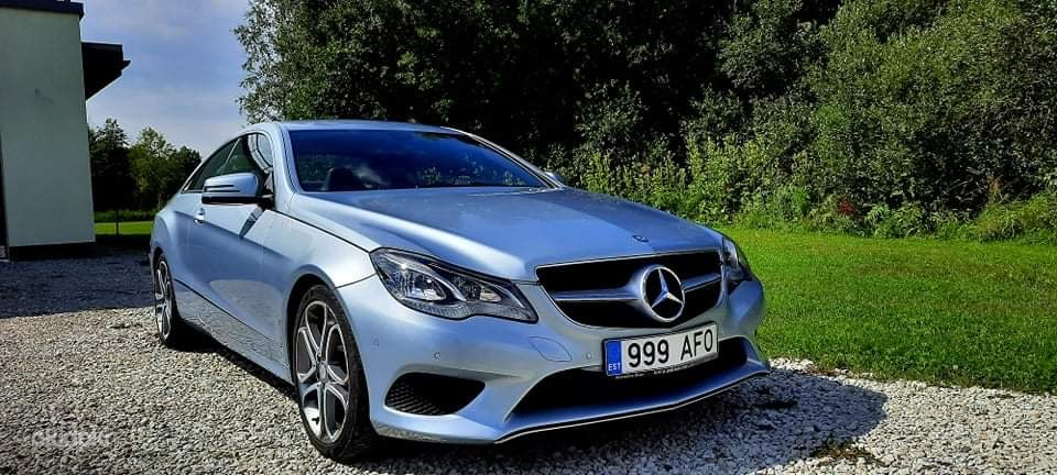 Mercedes E-220D coupe (foto #2)