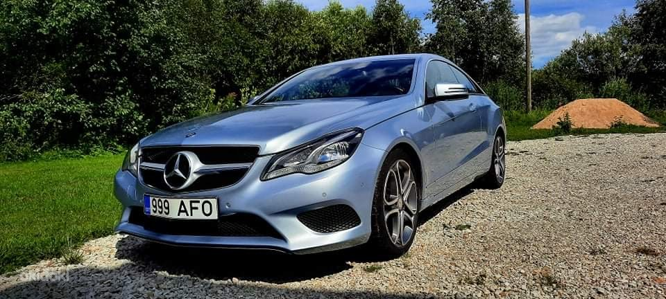 Mercedes E-220D coupe (foto #3)