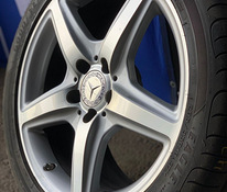 AMG 5 SPOKE AMG ALLOY WHEELS MERCEDES-BENZ