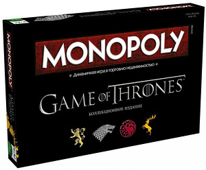Monopoly Game of Thrones lauamäng 18+