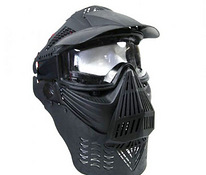 Paintball airsoft Mask kaelakaitsega
