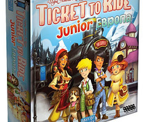 Ticket to Ride Europe lauamäng 8+ junior vene