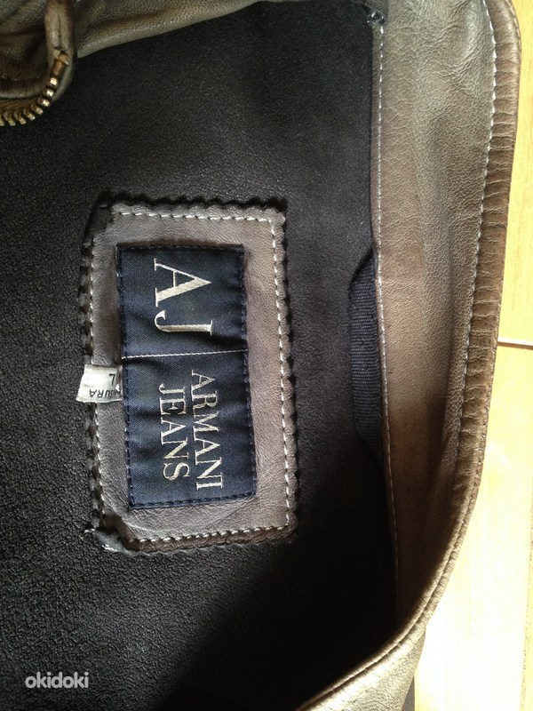 079a489c51c Armani Jeans nahktagi, originaal - Tallinn - Meesterõivad, Joped ...