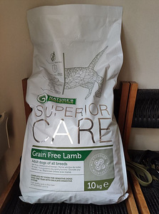 Nature's protection superior care grain free lamb - 10 kg