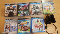 PS3 Eye mängud Child Of Eden, Ghost Recon
