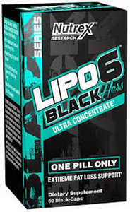 Nutrex lipo-6 black hers ultra concentrate 60tk