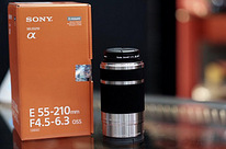 Sony 55-210mm F4.5-6.3 OSS e-mount