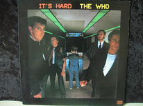 LP The WHO - It's Hard, 1982, Style:Classic Rock