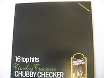 LP CHUBBY CHECKER - 16 Top Hits,1985,Style Twist,Rock & Roll