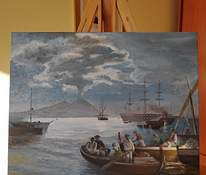 """Fisher at the Gulf of Naples"" Replica"