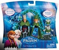 Uus nukkide komplekt Disney Frozen: Troll Wedding Gift Set