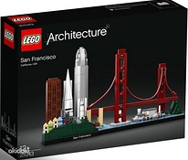 Uus avamata Lego San Francisco 21043 565 pc