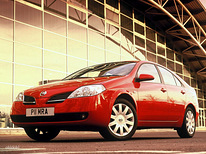 Autorent. Nissan Primera. Manual Car rental