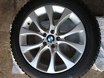 Bmw F15 F16 E70 E71 R19 rims +9mm Conti 255/50 R19