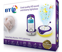 Радионяня BT 350 Digital baby monitor Lightshow