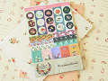 Secret Garden scrapbook planner stickers