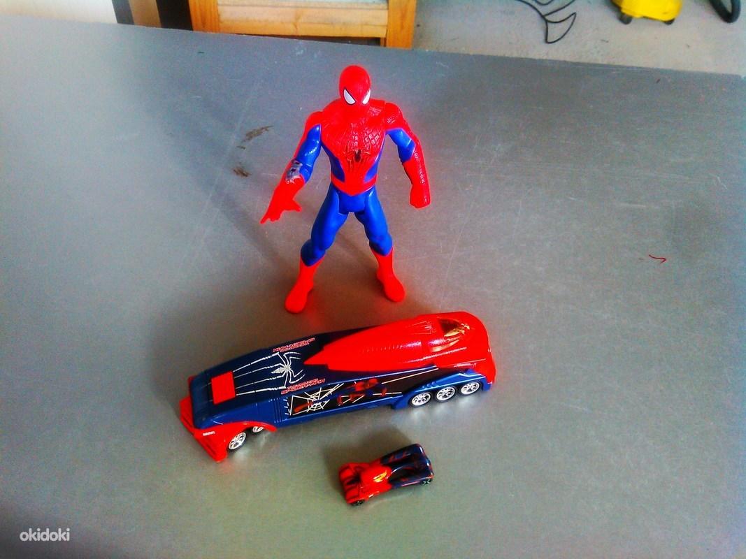 Фургон человека паука + человек паук - Tallinn - Игрушки, Пластиковые купить и продать