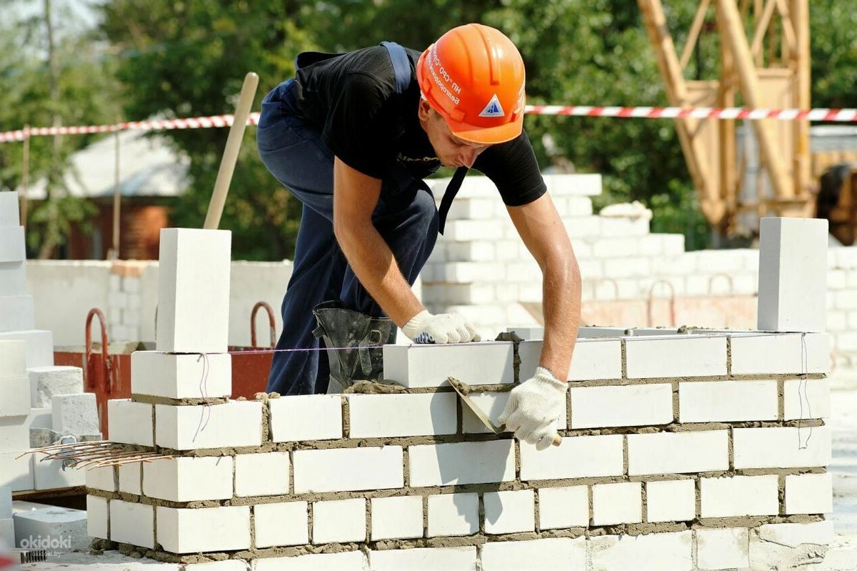 строительные работы кирпичная кладка