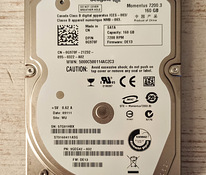"Kõvaketas HDD Seagate 2,5"" 160GB SATA 7200rpm 9,5mm"