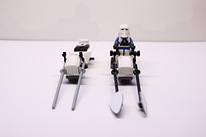 Snowtrooper Speeder and Snowtroopers