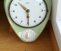 Kitchen Clock,with timer, Wehrle-Germany 1950-60