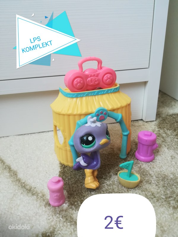 LPS KOMPLEKT komplekt little pet shop littlest pet shop (foto #1)