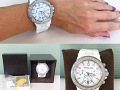 Michael Kors White Ceramic Chronograph watch MK 5391