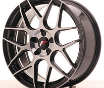 JR Wheels JR18 18×7,5 ET35-42 BLANK 5H Gloss Black Machined