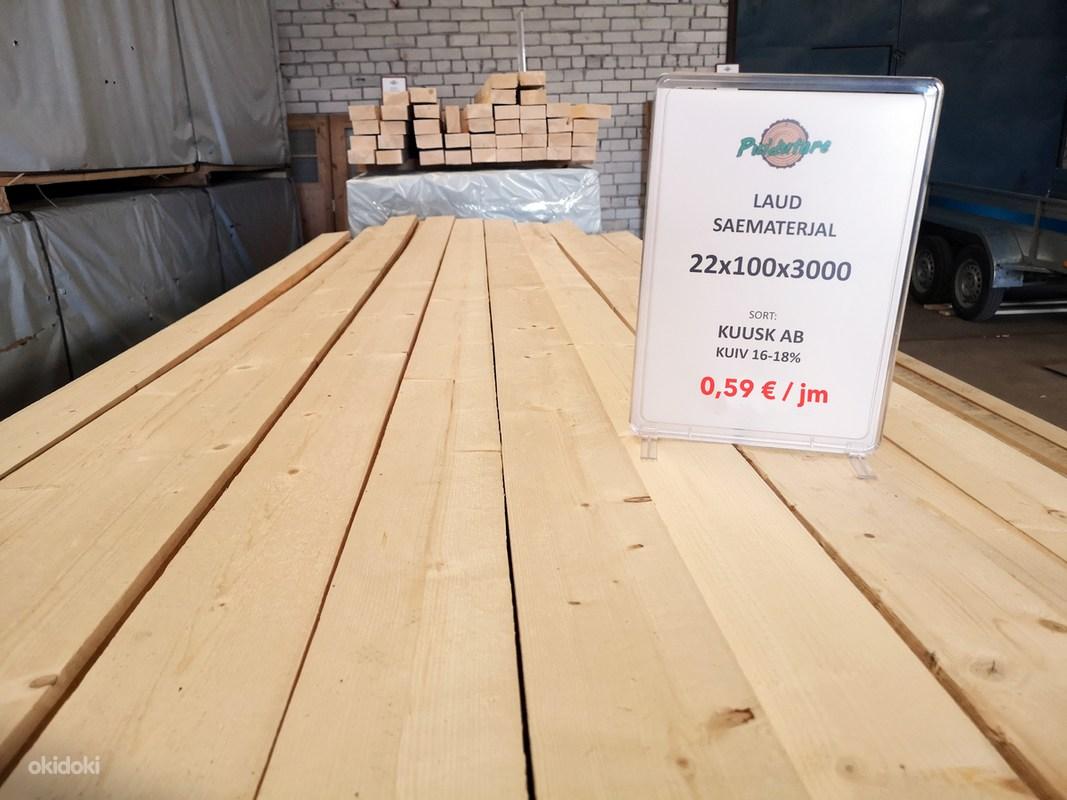6d237a3dbce Laud 22x100 - Saematerjal (AB sort - kuiv puit 18%) - Tallinn - Kodu ...