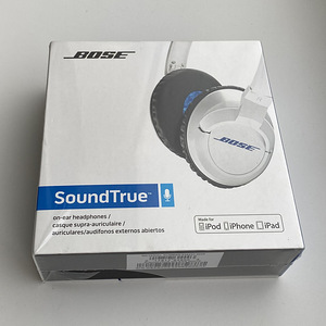 Bose SoundTrue Headphones On-Ear Style, White