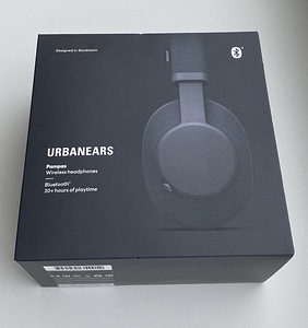 Urbanears Pampas Wireless Headphones Black
